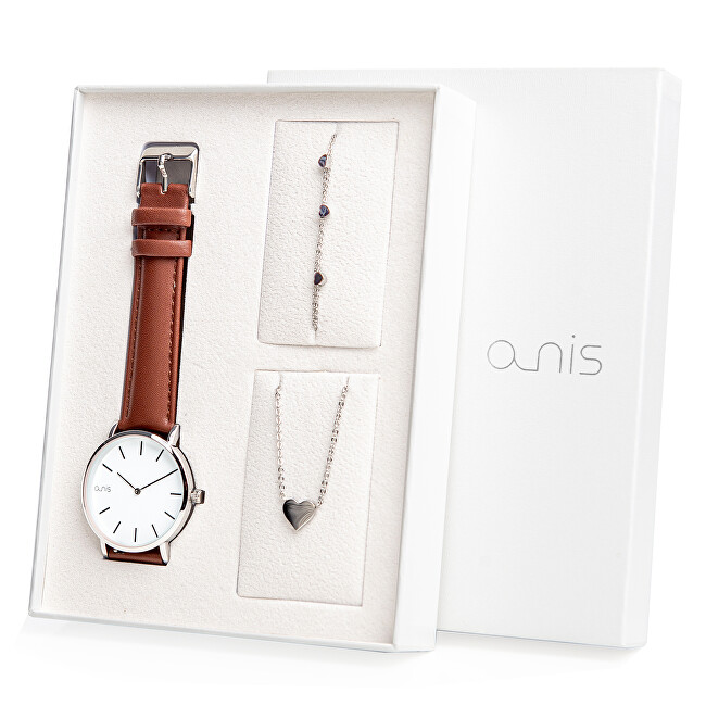 A-NIS Set hodinek, náhrdelníku a náramku AS100-03