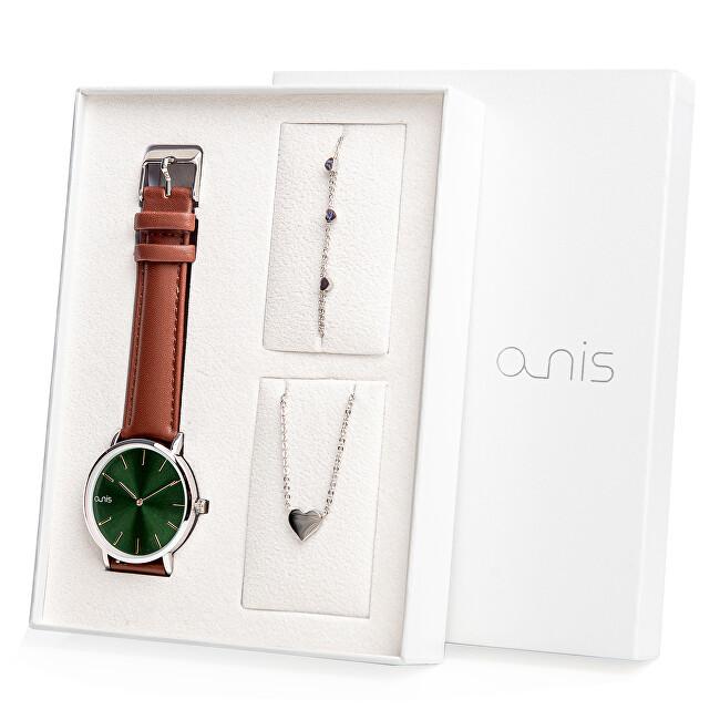 A-NIS Set hodinek, náhrdelníku a náramku AS100-15