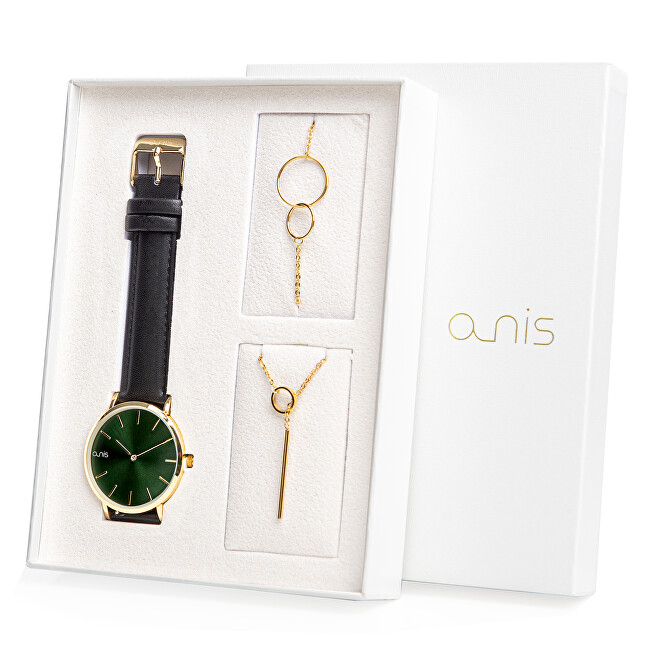 A-NIS Set hodinek, náhrdelníku a náramku AS100-26