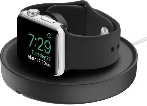Apple doplňky UNIQ Dome nabíjecí stojánek pro Apple Watch - Black