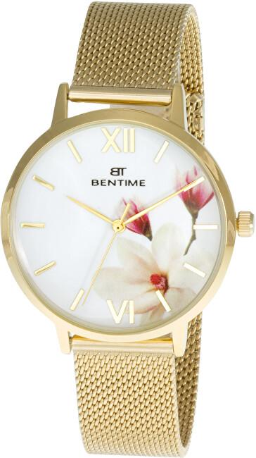 Bentime Dámské květinové hodinky 007-9MB-PT11894X