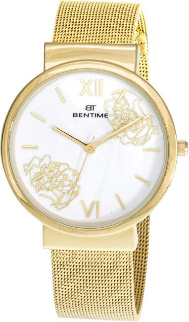 Bentime Dámské květinové hodinky 007-9MB-PT12084E
