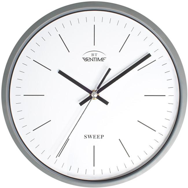 Bentime Nástěnné hodiny H39-SW8011GY2