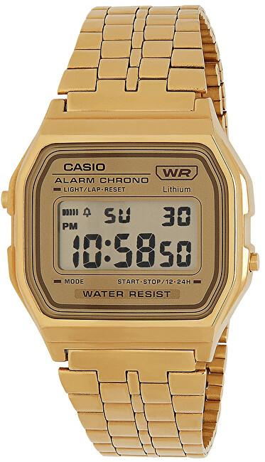 Casio Collection A158WETG-9AEF ROUND DIGITAL (007)