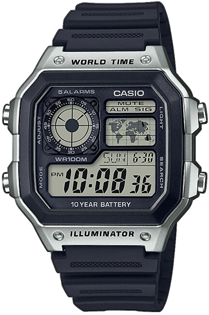 Casio Collection AE-1200WH-1CVEF (415)