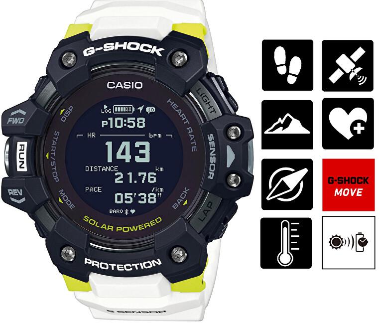 Casio G-Shock Bluetooth GBD-H1000-1A7ER CASIO (645)