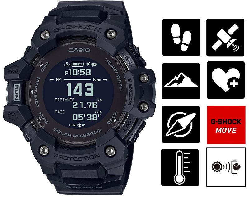 Casio G-Shock Bluetooth Solar GBD-H1000-1ER (645)