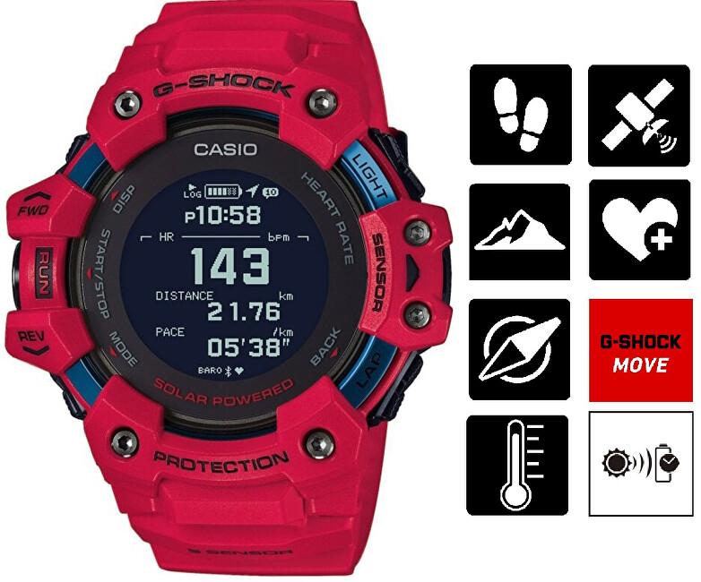 Casio G-Shock Bluetooth GBD-H1000-4ER CASIO (645)