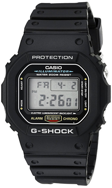 Casio The G/G-SHOCK DW-5600E-1VER