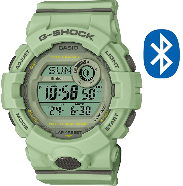 Casio G-Shock G-Squad Bluetooth Step Tracker GMD-B800SU-3ER (626)