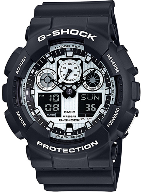 Casio G-Shock GA 100BW-1A