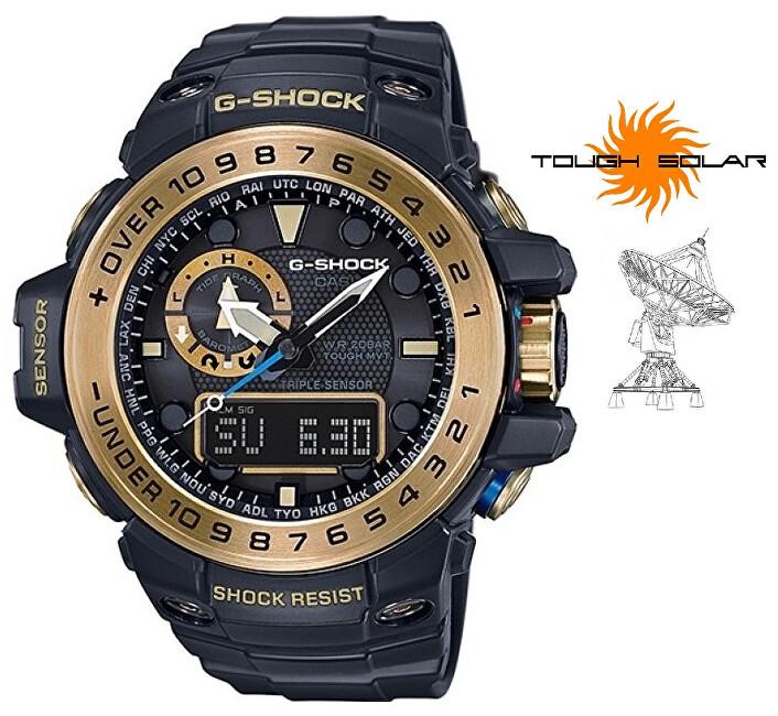 Casio G-Shock Gulfmaster GWN-1000GB-1AER Solar Rádiově řízené