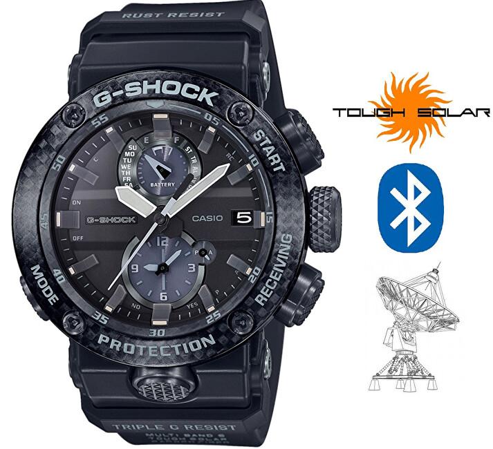 Casio G-Shock GWR-B1000-1AER Gravitymaster Bluetooth Solar Carbon Core Guard