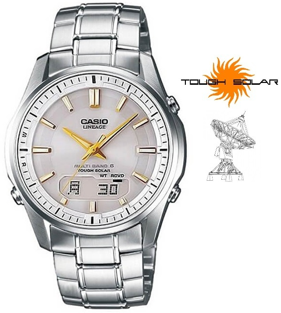 Casio Lineage Solar Wave Ceptor LCW-M100DSE-7A2ER