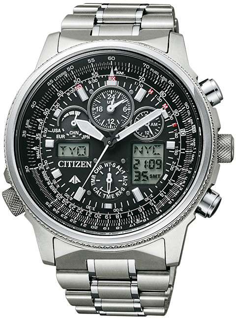 Citizen Eco-Drive Pilot Global RC JY8020-52E