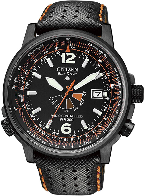 Citizen Eco-Drive Pilot Radiocontrolled AS2025-09E