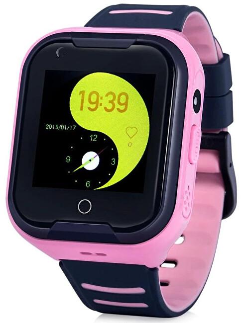 CEL-TEC KT11 dětské hodinky s GPS růžové