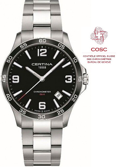 Certina DS-8 Quartz Precidrive COSC Chronometer C033.851.11.057.00