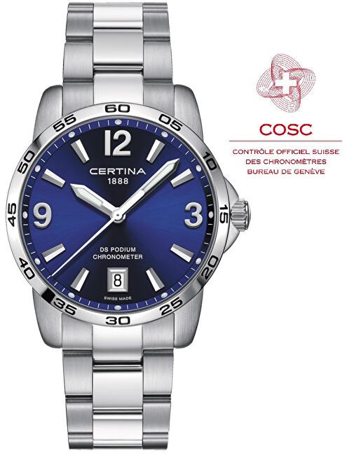 Certina DS PODIUM Chronometer C034.451.11.047.00