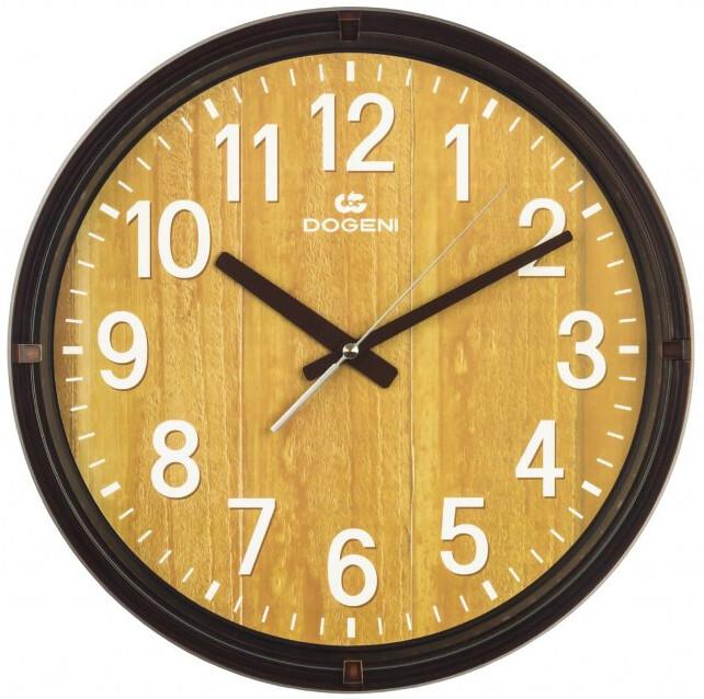 DOGENI Nástěnné hodiny s tichým chodem WNP003DB