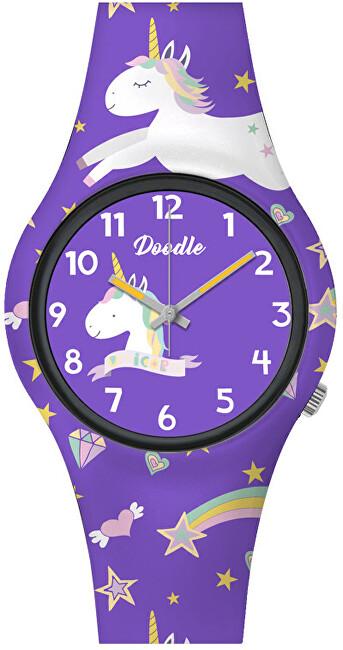 Doodle Purple Unicorn DO32006