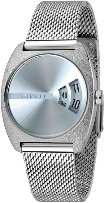 Esprit Disc Blue Silver Mesh ES1L036M0045 - SLEVA
