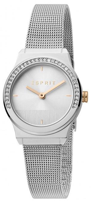 Esprit Magnolia Mini Stones Silver Mesh ES1L091M0045