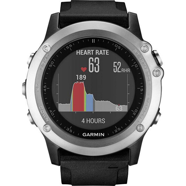 Garmin Fenix 3 Optic Silver