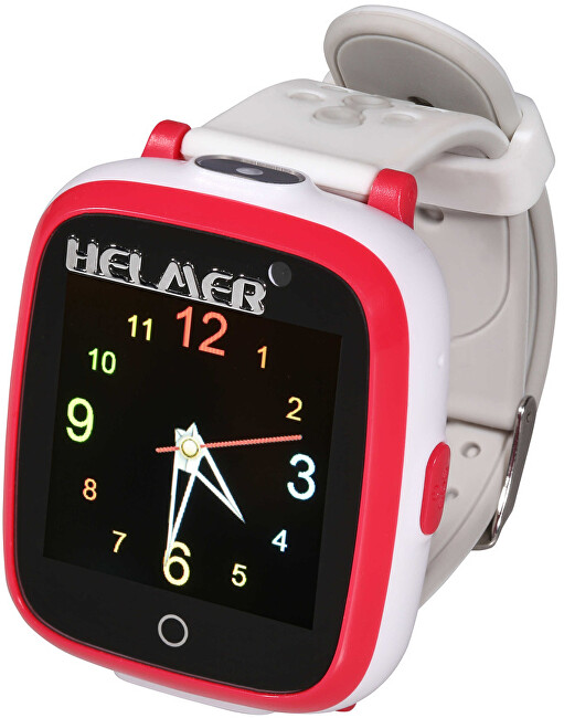 Helmer Dětské hodinky KW 802 červené