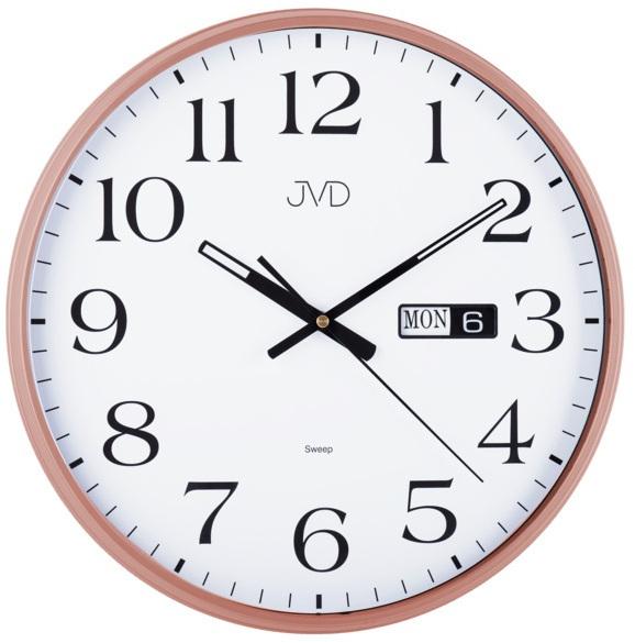 JVD Nástěnné hodiny s tichým chodem HP671.5