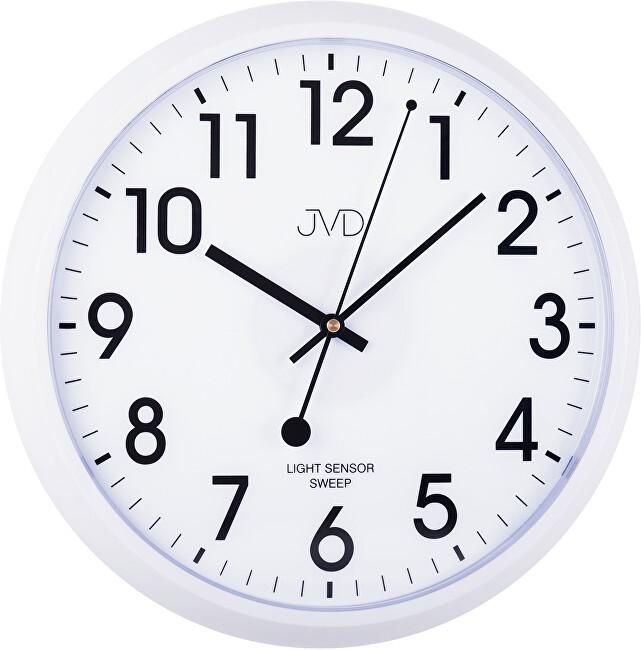 JVD Nástěnné hodiny s tichým chodem HP698.3