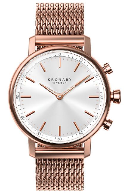 Kronaby Vodotěsné Connected watch Carat S1400/1 - SLEVA I