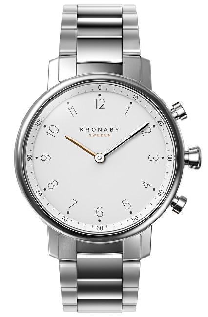 Kronaby Vodotěsné Connected watch Nord S0710/1 - SLEVA