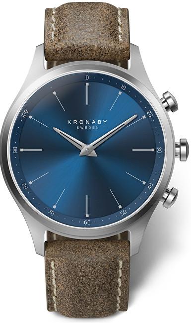 Kronaby Vodotěsné Connected watch Sekel S3759/1