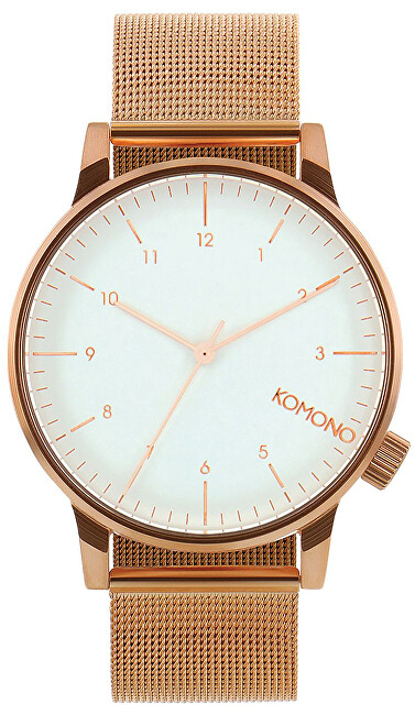 Komono Winston Royale ROSE GOLD-WHITE KOM-W2356