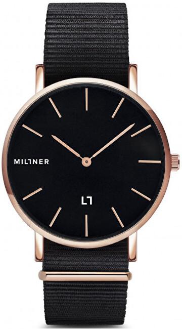Millner Hallfield S Black Fabbric 36 mm