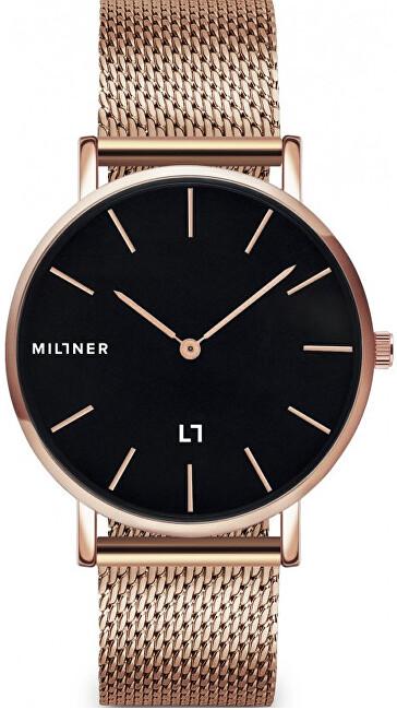 Millner MayfairS Rose Black 36 mm