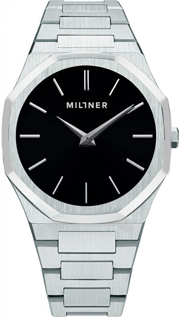 Millner Oxford S Silver Black 36 mm