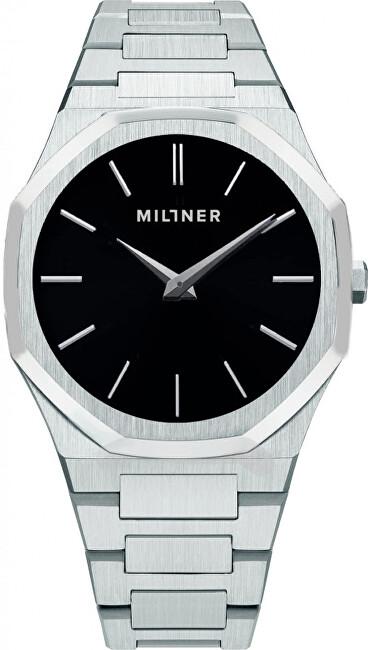 Millner Oxford Silver Black 40 mm