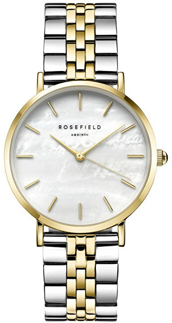 Rosefield The Upper East Side White Pearl Bicolor