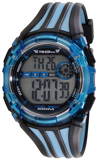 RG512 Digitální hodinky G32441-008