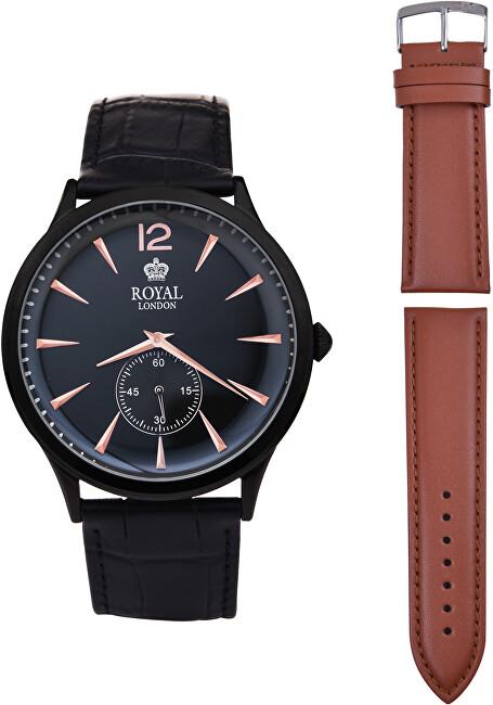 Royal London Pánské hodinky 41295-05 s řemínkem ZDARMA