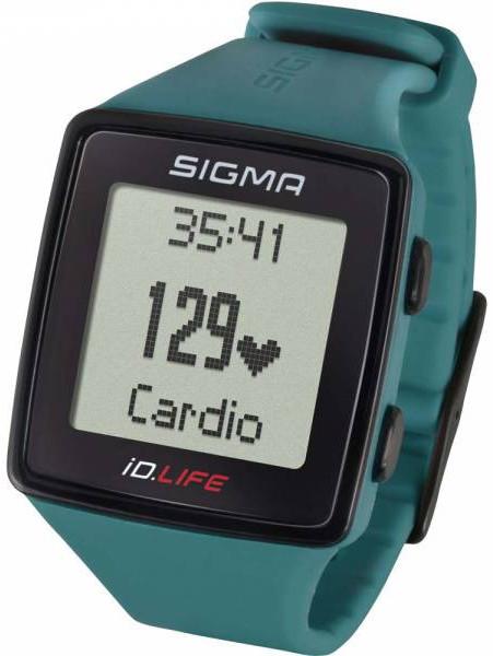 Sigma Pulsmetr iD.LIFE zelený 24610