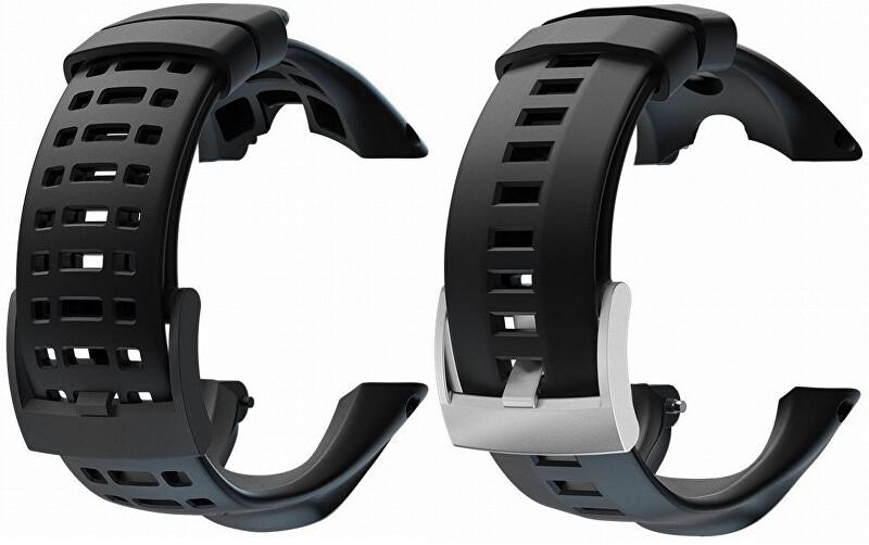 Suunto Řemínek k hodinkám Ambit/Ambit 2/Ambit3 Peak černý s ocelovou sponou