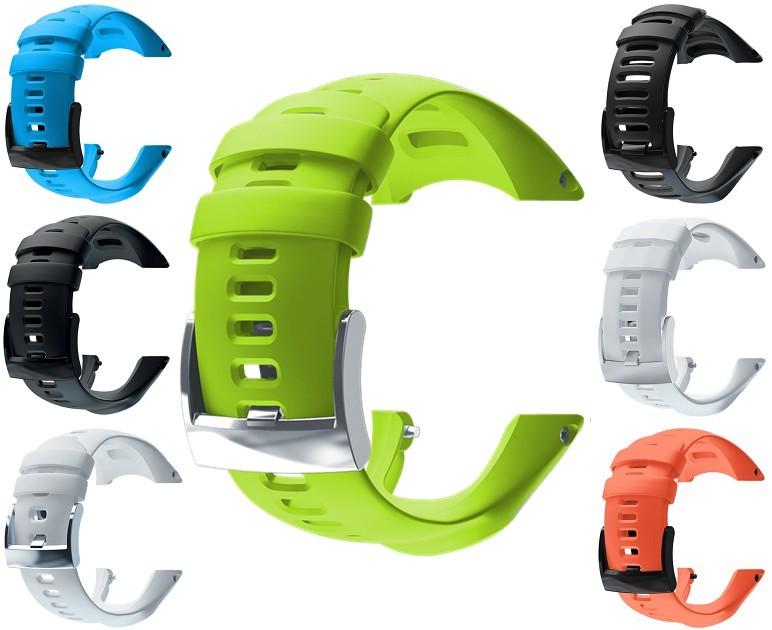 Suunto Řemínek k hodinkám Ambit3 Sport limetkově zelený
