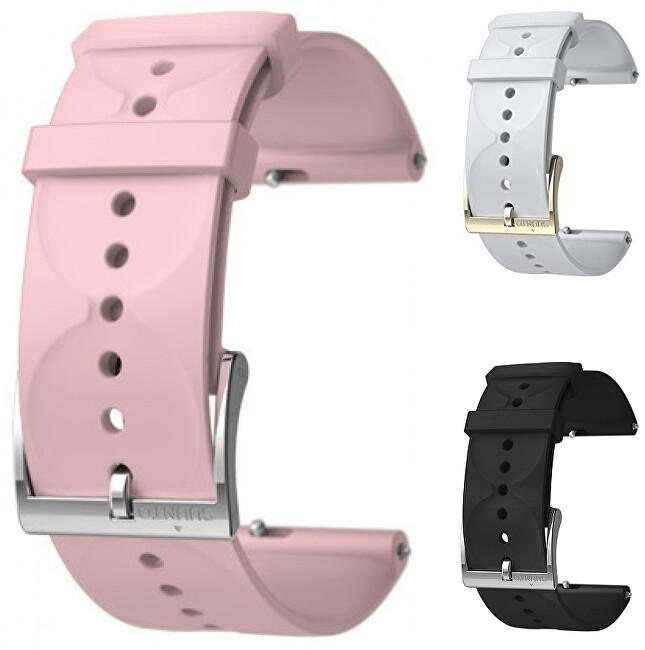 Suunto Suunto 3 Fitness Silikonový řemínek k hodinkám Suunto 3 a Suunto 3 Fitness celočerný
