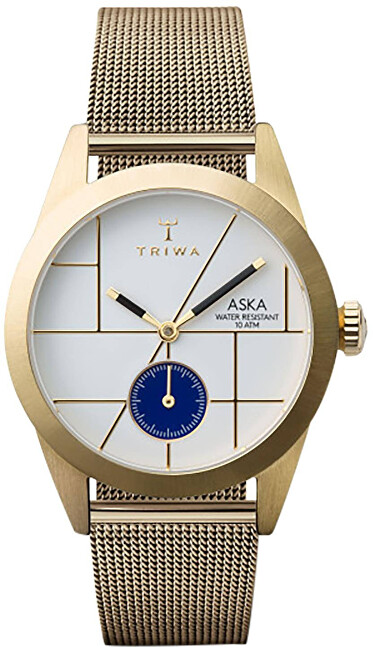 Triwa ASKA Dixie Gold Mesh Super Slim TW-AKST106-MS121313