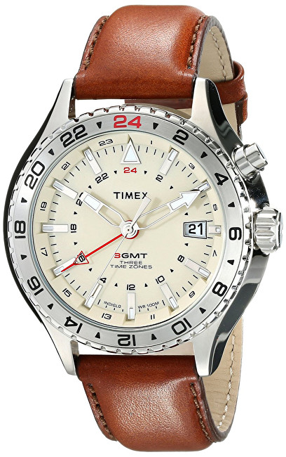 Timex 3-GMT Intelligent Quartz T2P426