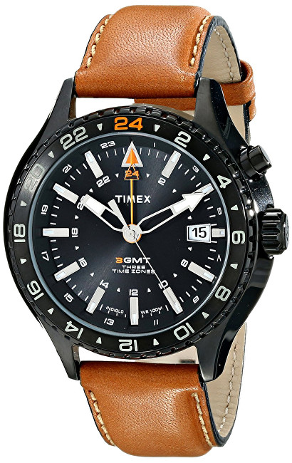 Timex 3-GMT Intelligent Quartz T2P427