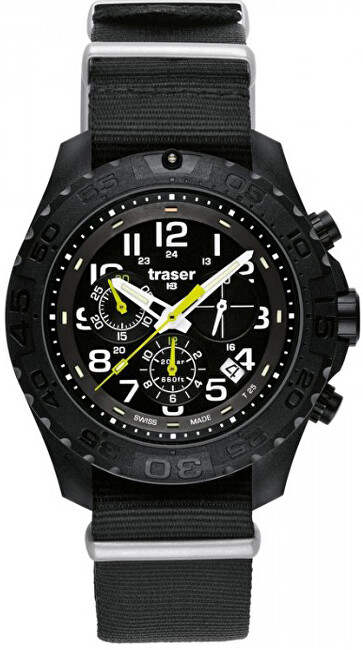 Traser Military Outdoor Pioneer Chronograph NATO